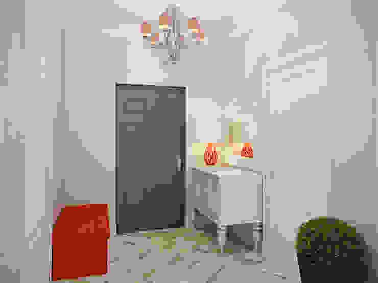 Pasillos y hall de entrada de estilo  por Студия дизайна интерьера Маши Марченко,