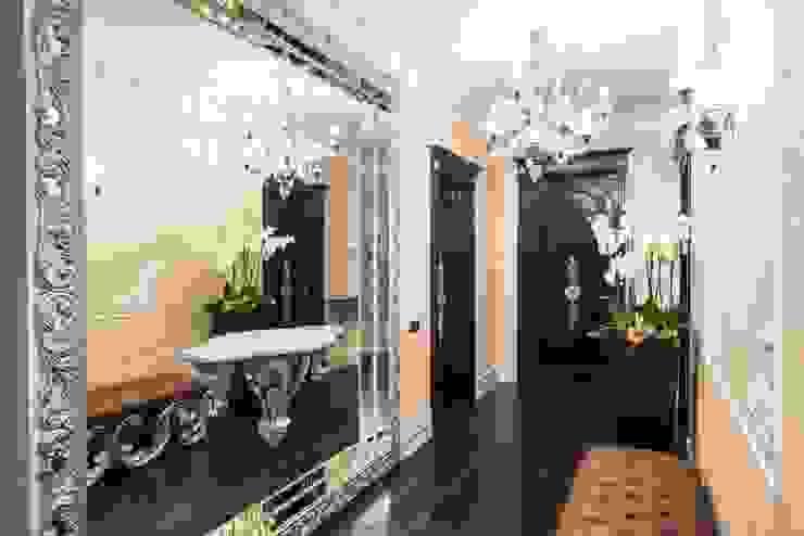 Гармония стилей Коридор, прихожая и лестница в эклектичном стиле от Premier Dekor Эклектичный