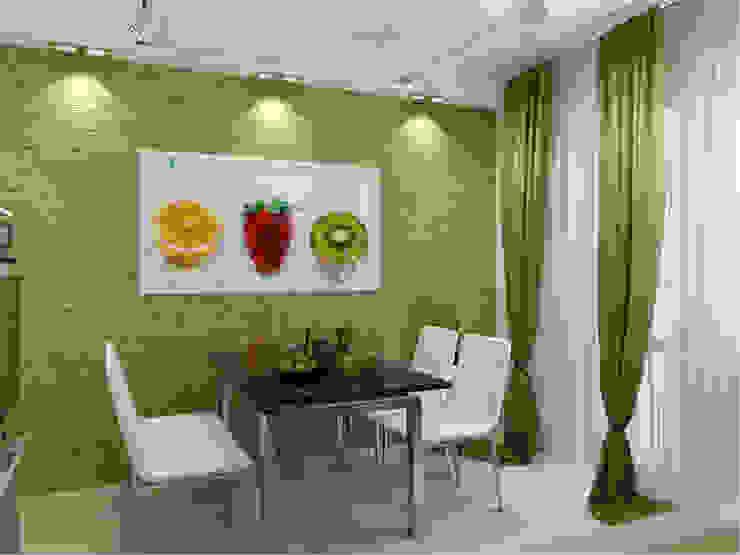 Квартира в г. Гатчина Кухня в стиле лофт от Студия дизайна интерьера Маши Марченко Лофт