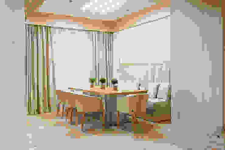 Тёплый песок и ветер странствий Столовая комната в стиле минимализм от Premier Dekor Минимализм