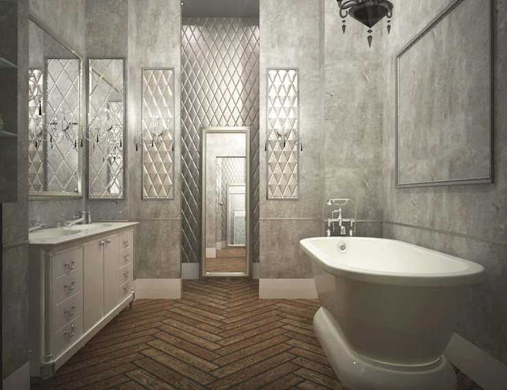 Eclectic style bathroom by Best Home Eclectic