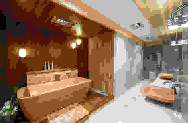 Тёплый песок и ветер странствий Ванная комната в стиле минимализм от Premier Dekor Минимализм