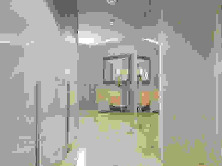 Квартира в г. Гатчина Коридор, прихожая и лестница в скандинавском стиле от Студия дизайна интерьера Маши Марченко Скандинавский