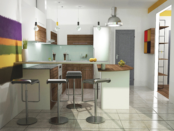 Best Home Industrial style kitchen