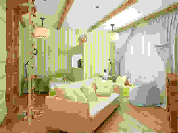 Квартира в г. Гатчина Детская комнатa в скандинавском стиле от Студия дизайна интерьера Маши Марченко Скандинавский