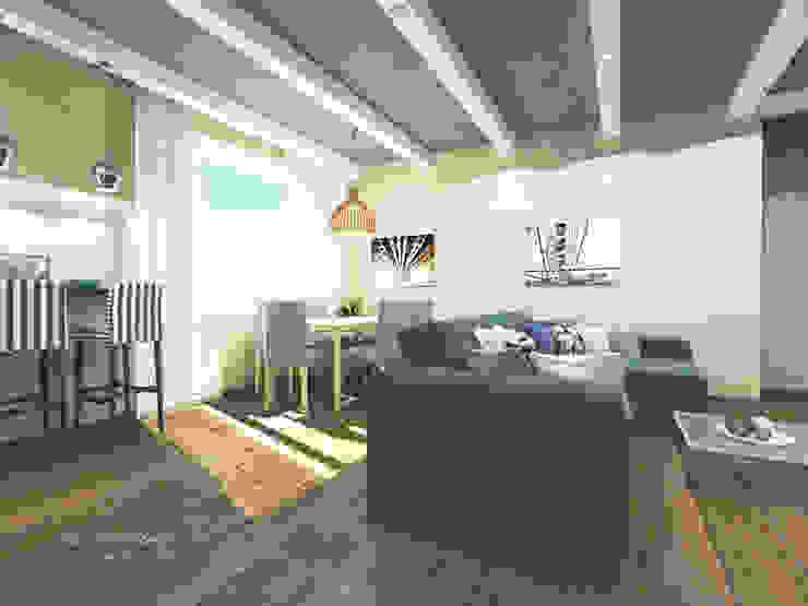 Квартира в Санкт-Петербурге на Московском проспекте 220 Столовая комната в стиле модерн от Best Home Модерн
