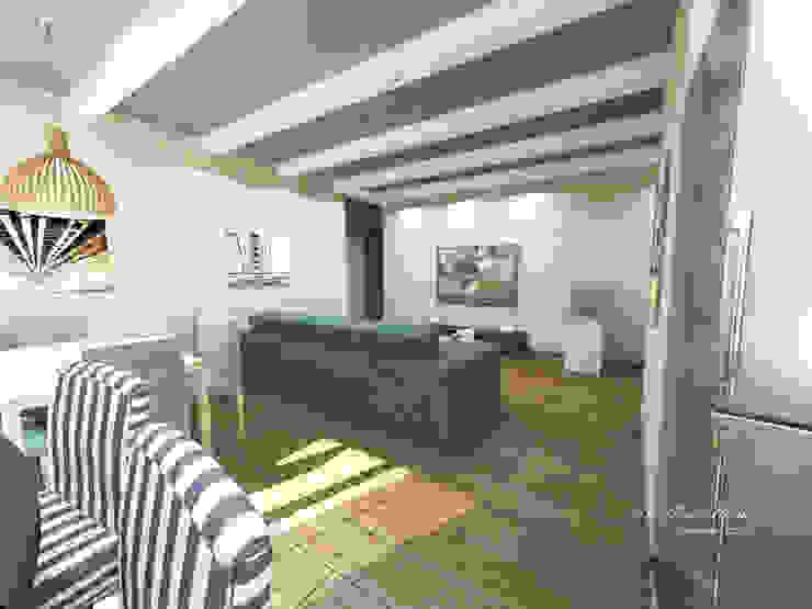 Квартира в Санкт-Петербурге на Московском проспекте 220 Гостиная в стиле модерн от Best Home Модерн
