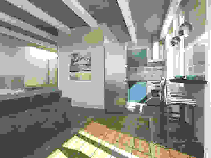 Квартира в Санкт-Петербурге на Московском проспекте 220 Кухня в стиле модерн от Best Home Модерн