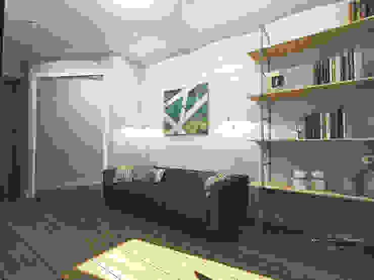 Квартира в Санкт-Петербурге на Московском проспекте 220 Рабочий кабинет в стиле модерн от Best Home Модерн