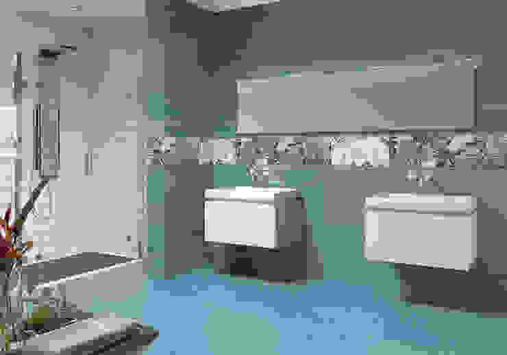 Look - Novedad Cevisama 2015 Baños de estilo moderno de SANCHIS Moderno