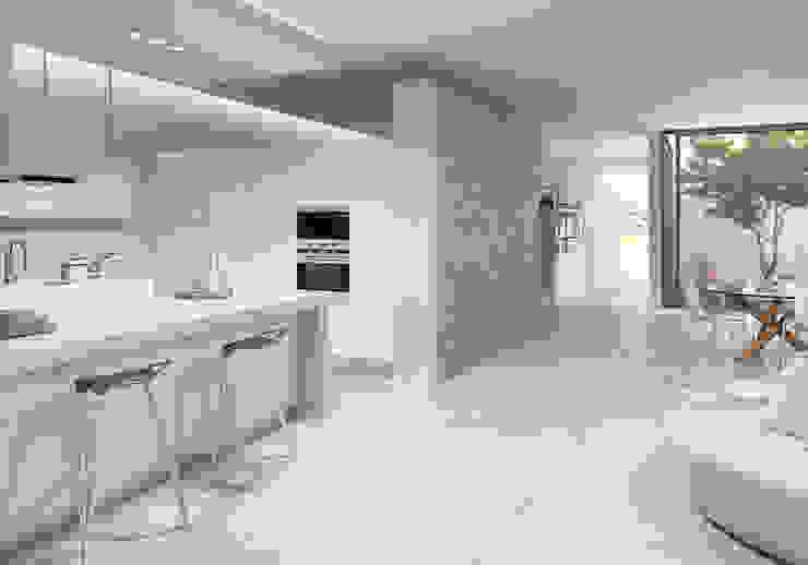 Pattern - Novedad Cevisama 2015 Cocinas de estilo moderno de SANCHIS Moderno