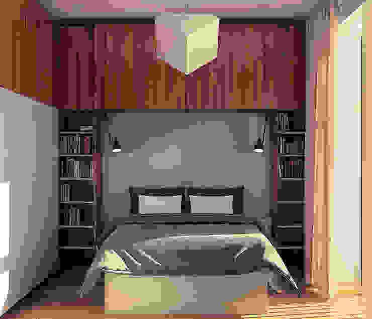 Kamar Tidur Gaya Skandinavia Oleh sreda Skandinavia