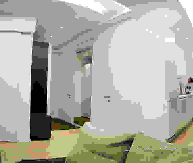 Best Home Minimalist corridor, hallway & stairs