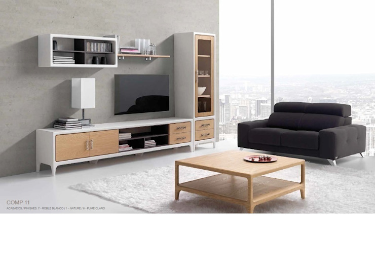 OPTIMUM de Muebles Nogal Yecla, S.L. Escandinavo