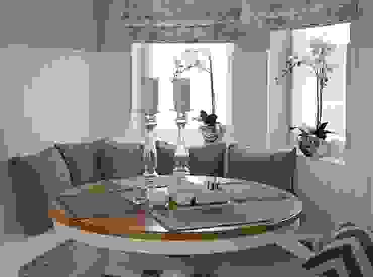 Apartament na Mazurach Klasyczna jadalnia od BBHome Design Klasyczny