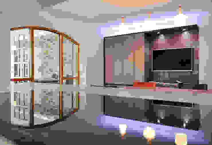 Linlithgow Extension 03 George Buchanan Architects Minimalist kitchen