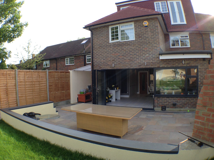patio Moderne huizen van Progressive Design London Modern