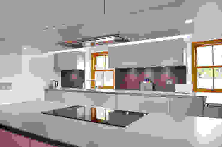 Linlithgow Extension 06 George Buchanan Architects Minimalist kitchen