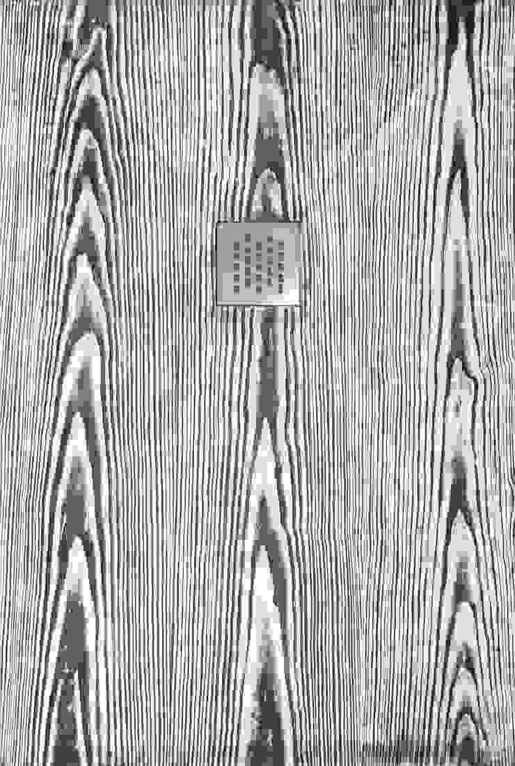 Plato de ducha Madera - Blanco y Negro de BATH Moderno