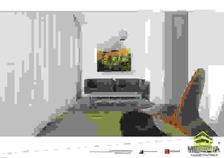 Vista studio unità 1 Studio moderno di Grendene Design Moderno