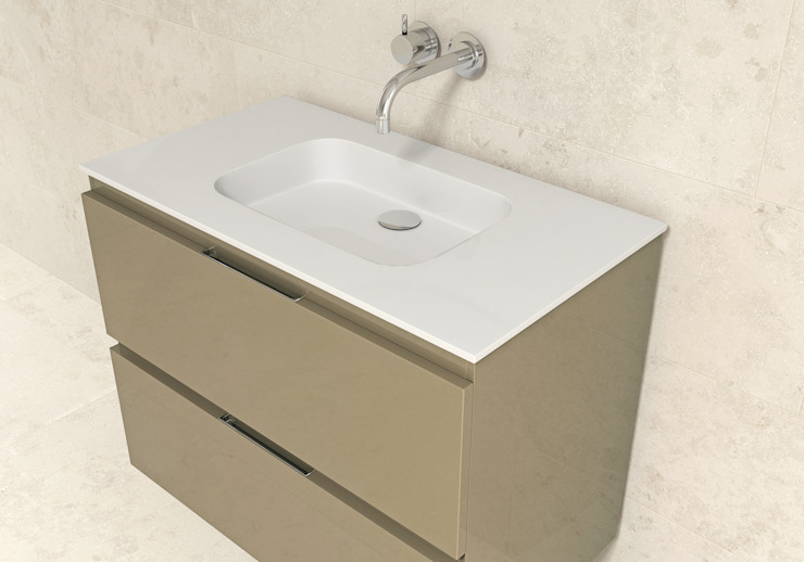 Encimera de porcelana Concept de BATH Moderno
