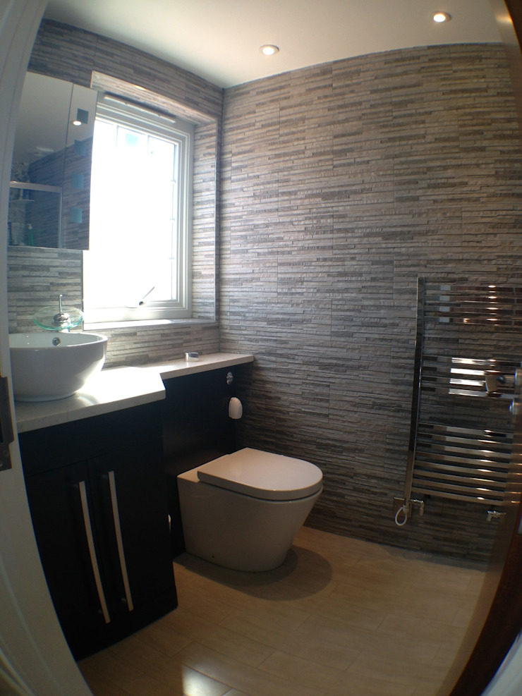ensuite Moderne slaapkamers van Progressive Design London Modern