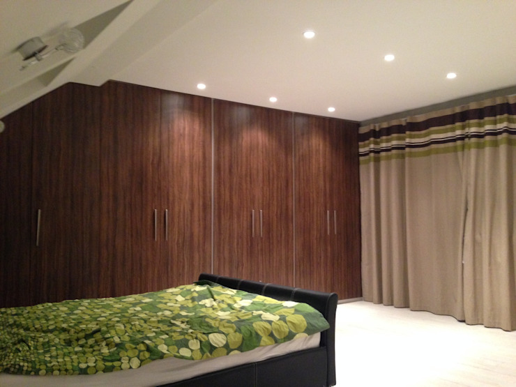 master bedroom Modern style bedroom by Progressive Design London Modern