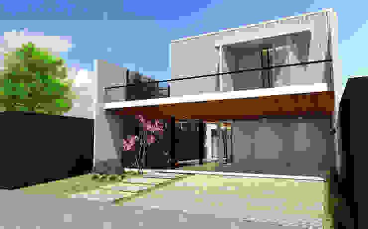 Casas modernas de Quattro+ Arquitetura Moderno