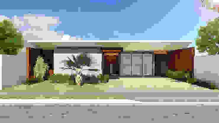 Residência AP+ Casas modernas por Quattro+ Arquitetura Moderno
