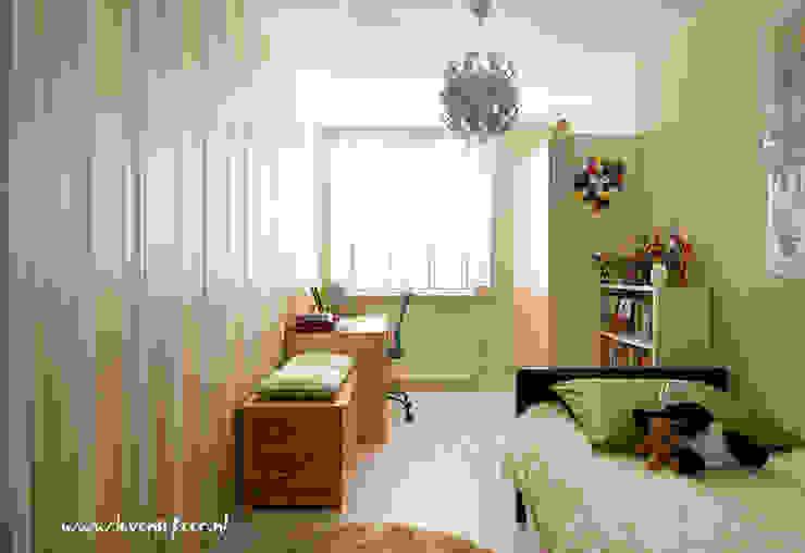 Fresh boyish room Cuartos infantiles de estilo asiático de Aileen Martinia interior design - Amsterdam Asiático