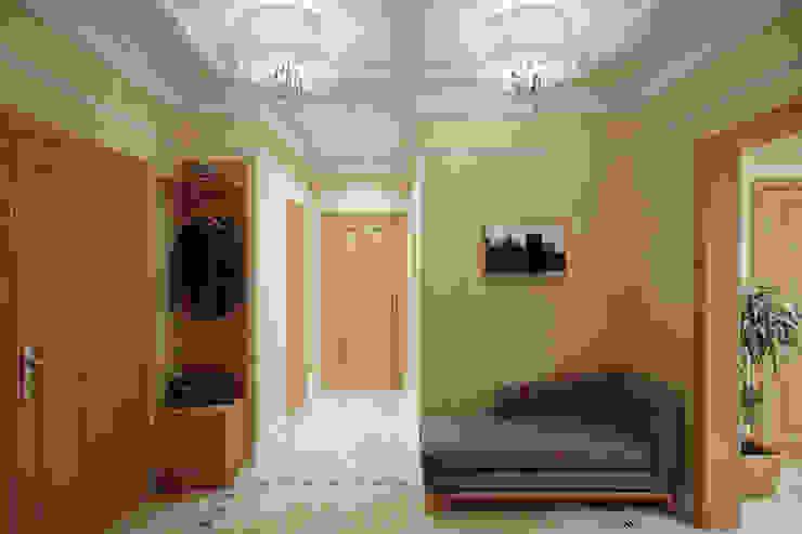 Hành lang, sảnh & cầu thang phong cách chiết trung bởi Студия интерьера 'SENSE' Chiết trung