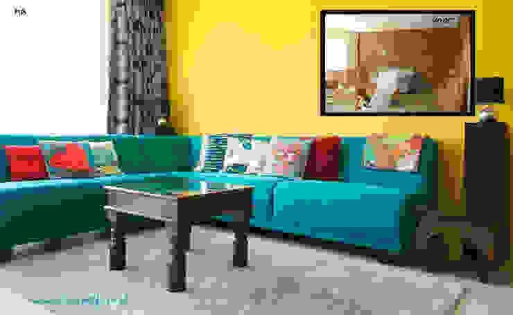 Voor en na asiatisch woonkamer makeover van Aileen Martinia interior design - Amsterdam Aziatisch