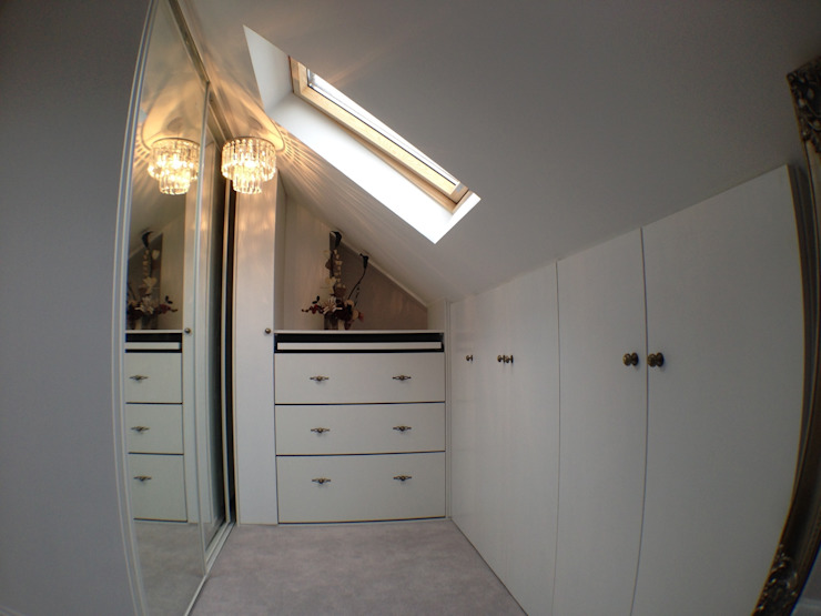 Loft Conversion Modern dressing room by Progressive Design London Modern