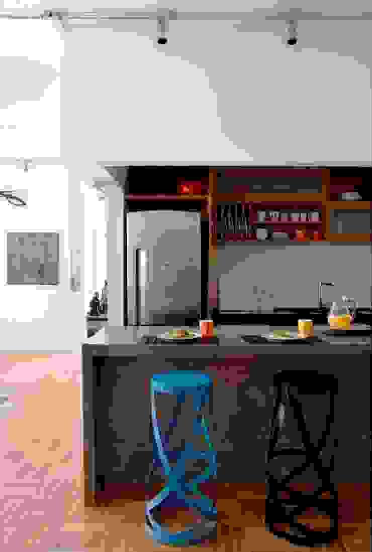Apartamento Laranjeiras Cozinhas modernas por Barbara Filgueiras arquitetura Moderno