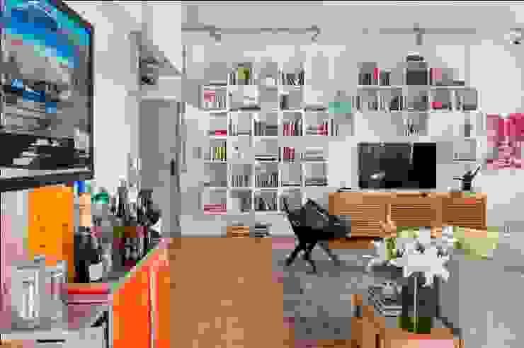 Barbara Filgueiras arquitetura Moderne Wohnzimmer