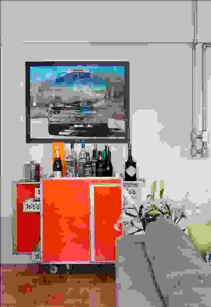 Apartamento Laranjeiras Salas de estar modernas por Barbara Filgueiras arquitetura Moderno