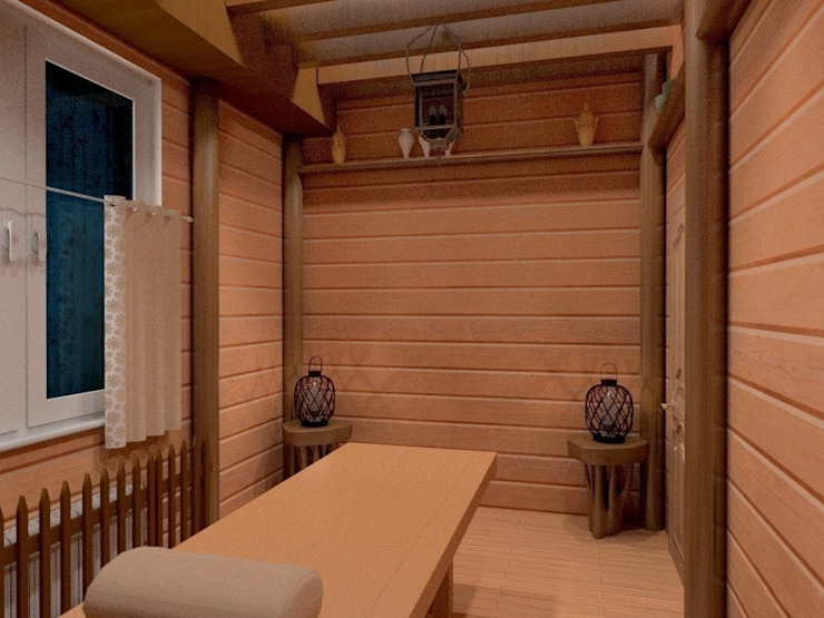 Массажный кабинет Гостиницы в рустикальном стиле от Art Group 'Tanni' Рустикальный
