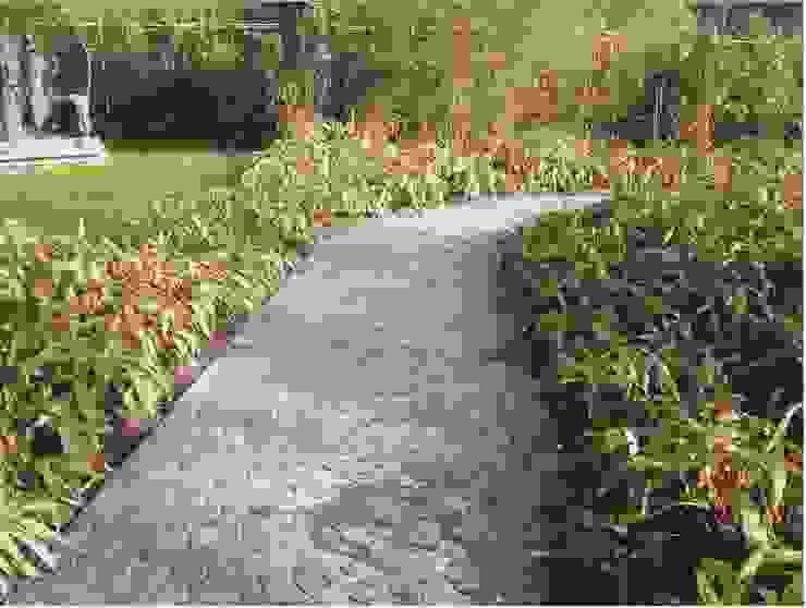 Luserna Stone Mediterranean style garden