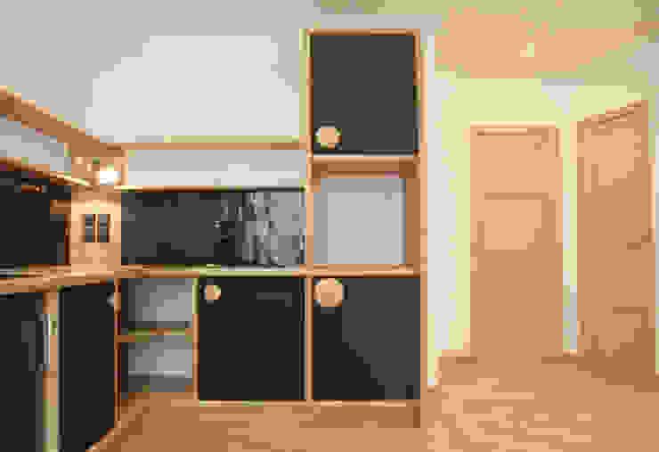 Appartement Angers. Cuisine classique par Anso Mata Classique