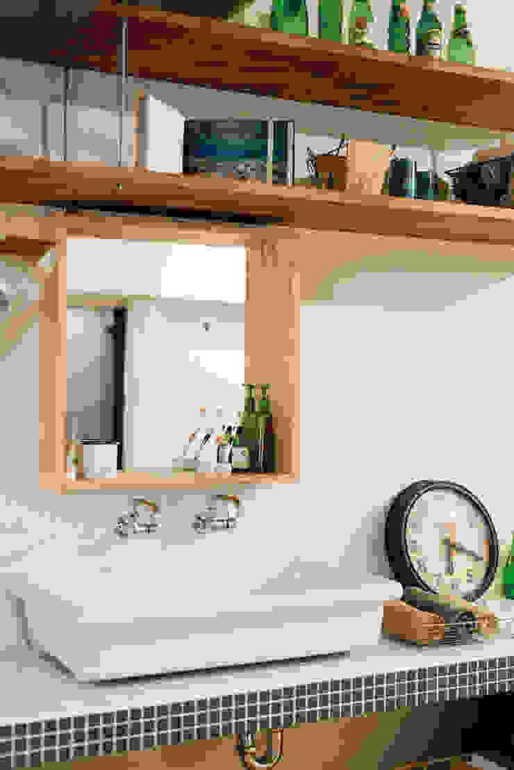 オープンサニタリー カントリースタイルの お風呂・バスルーム の 株式会社 アポロ計画 リノベエステイト事業部 カントリー