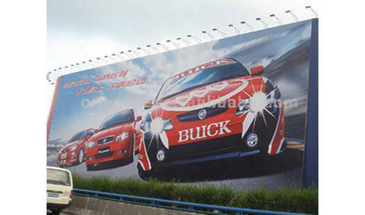 Billboard printing to attract potential customers and create an image of the company by Banner Buzz