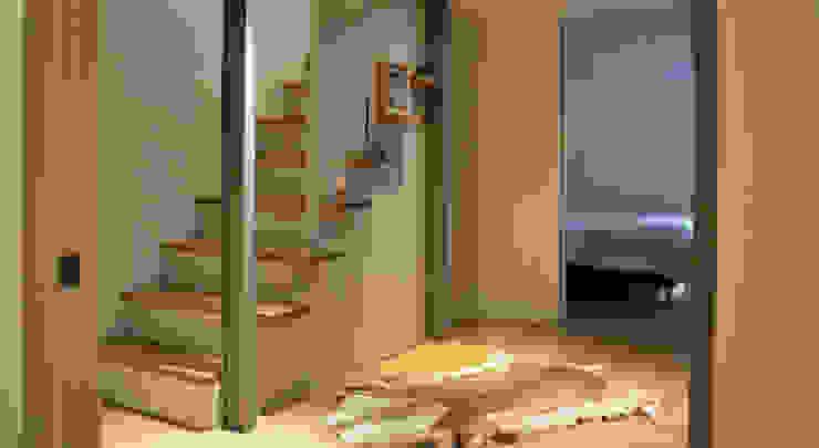 Escalier - Maison Paris 15e Couloir, entrée, escaliers modernes par A comme Archi Moderne