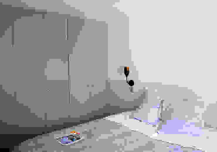 Appartement Pastourelle - Chambre après le chantier homify Chambre moderne