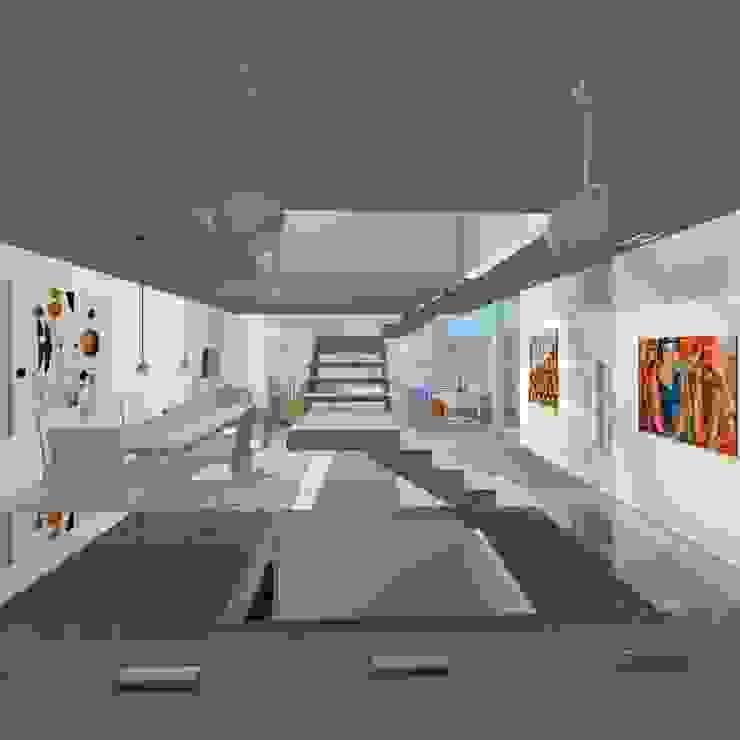Projeto Casa Salas de jantar modernas por Studio Bonazza Moderno