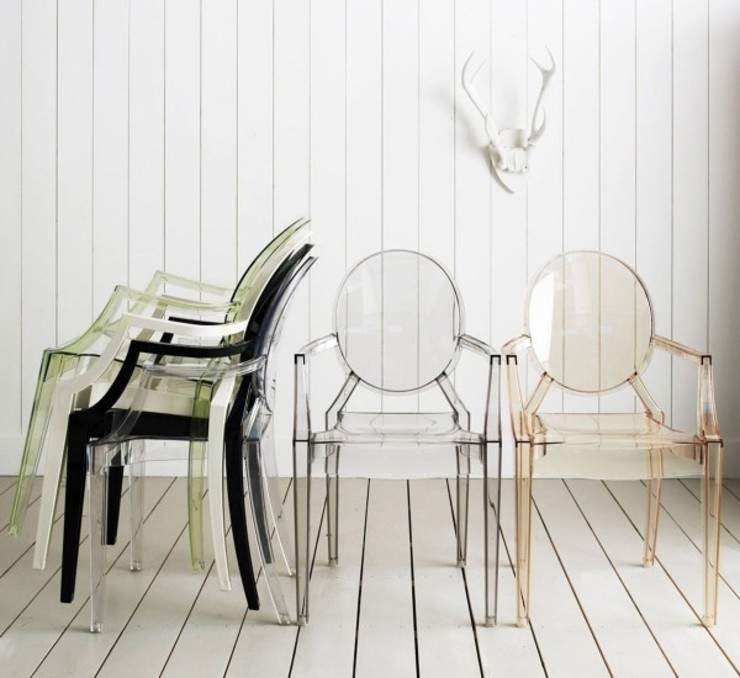 Louis Ghost - Kartell por MOHD - Mollura Home and Design Moderno