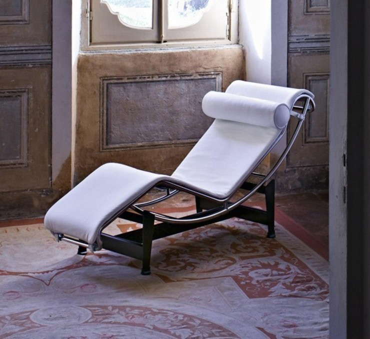 LC4 - Chaise Longue - Cassina par MOHD - Mollura Home and Design Classique