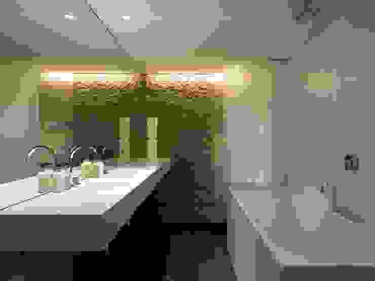 Apartment 60 Mackay + Partners 現代浴室設計點子、靈感&圖片