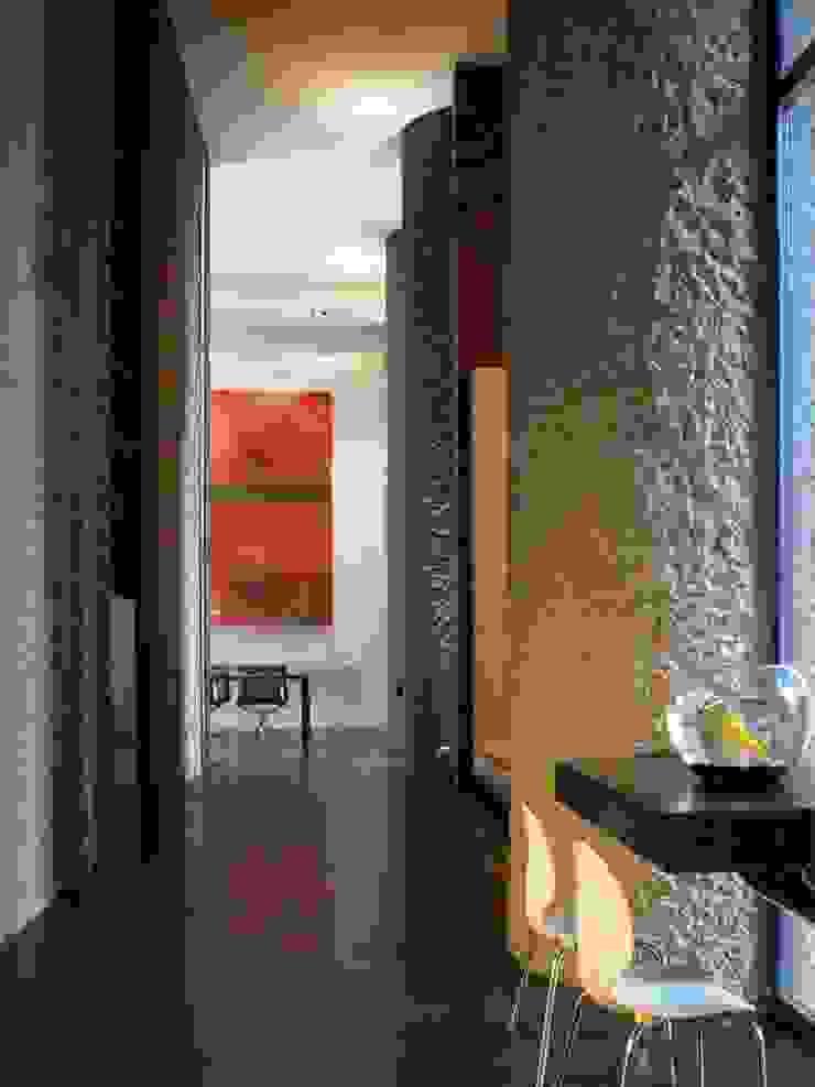 Apartment 60 Mackay + Partners 現代風玄關、走廊與階梯