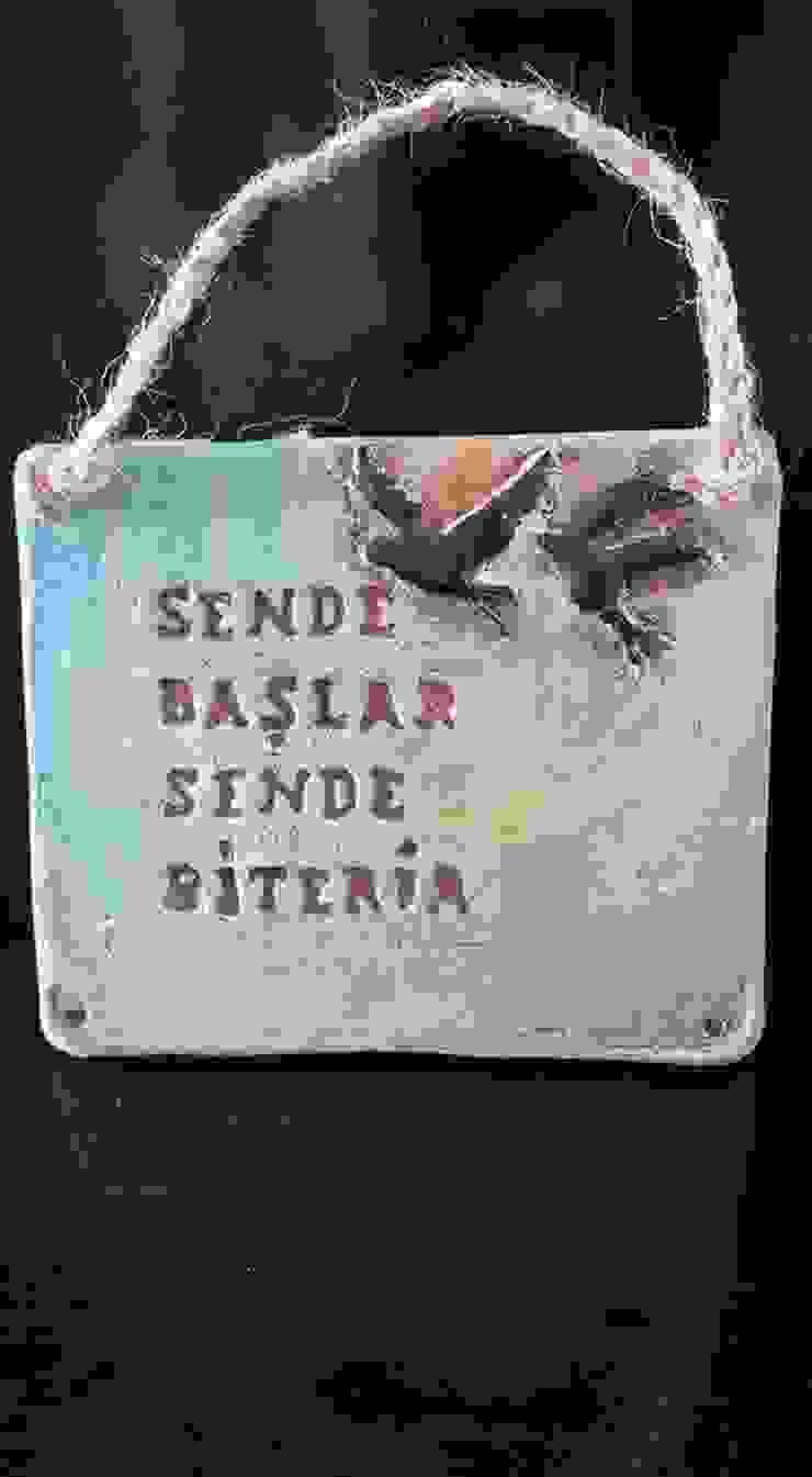 Berna Duman Seramik Atolyesi – Aşk pişti seramik oldu: modern tarz , Modern