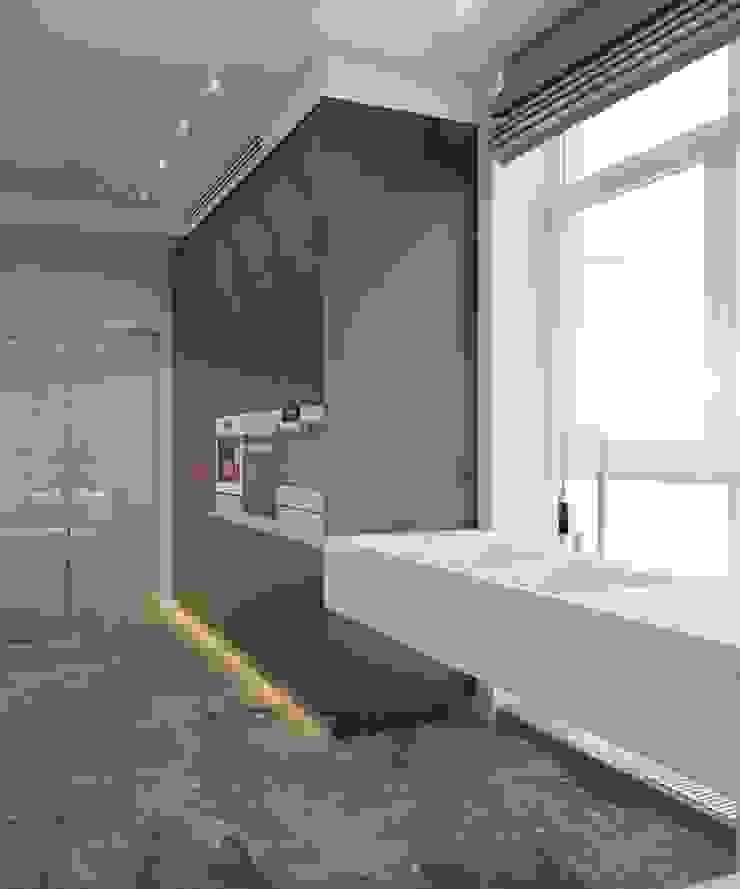 Apartment in Ekaterinburg Кухня в стиле минимализм от E_interior Минимализм